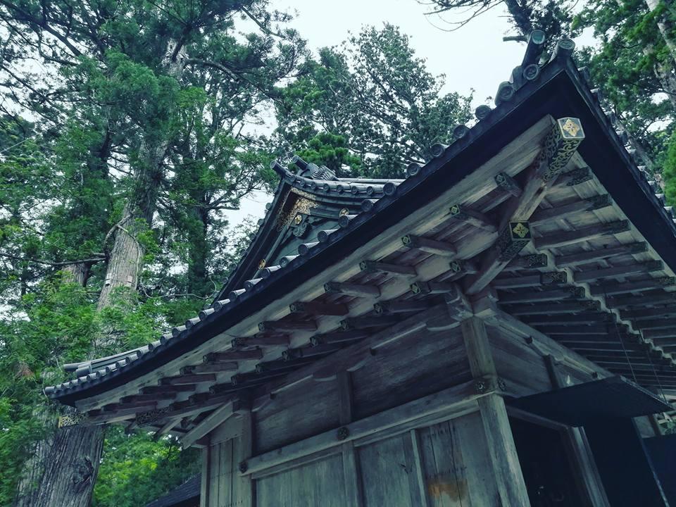 L'un des sanctuaires Shinto de la région.